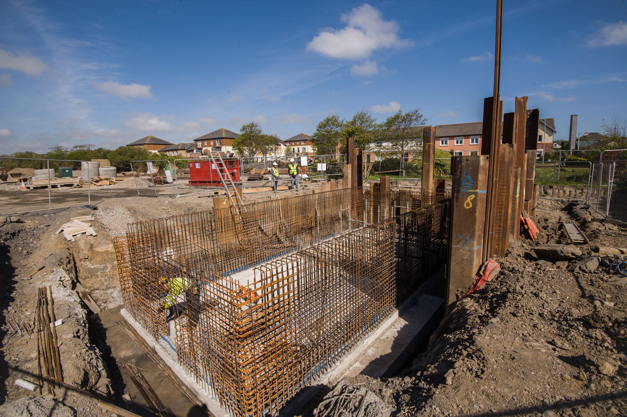 Construction Progress photography